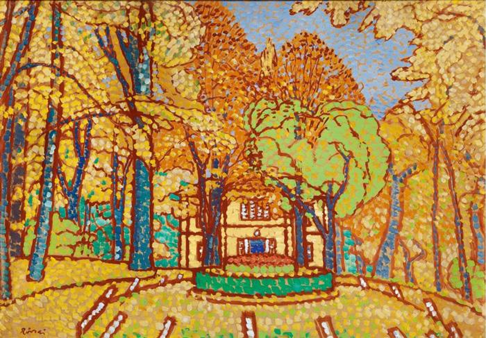 RIPPL RÓNAI JÓZSEF: A Róma-villa ősszel (1914 körül)