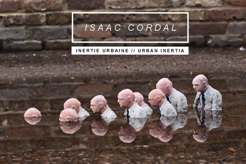 Urban Inertia (2015) Isaac Cordal