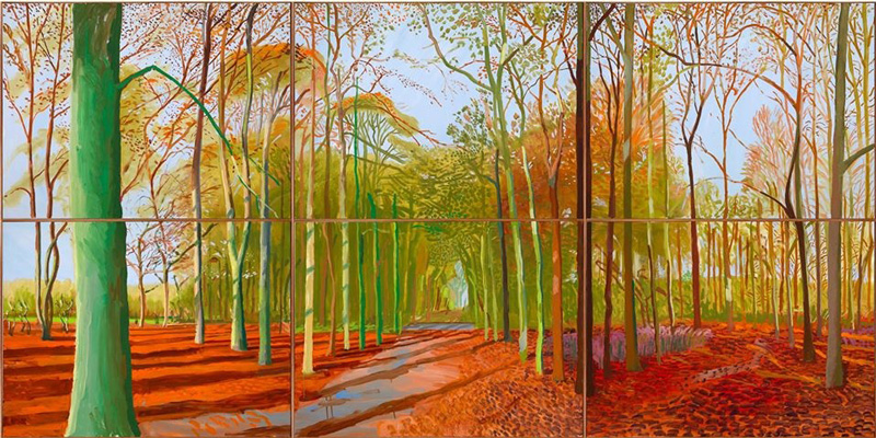 DAVID HOCKNEY: Woldgate Woods