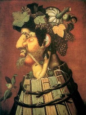 GIUSEPPE ARCHIMBOLDO: Ősz (1573)